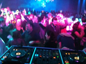 Sliding Vinyl Live at Battersea Power Station Party DJ